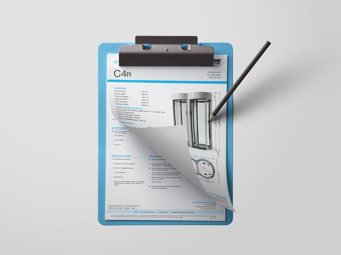 C4 secure entrance data sheet